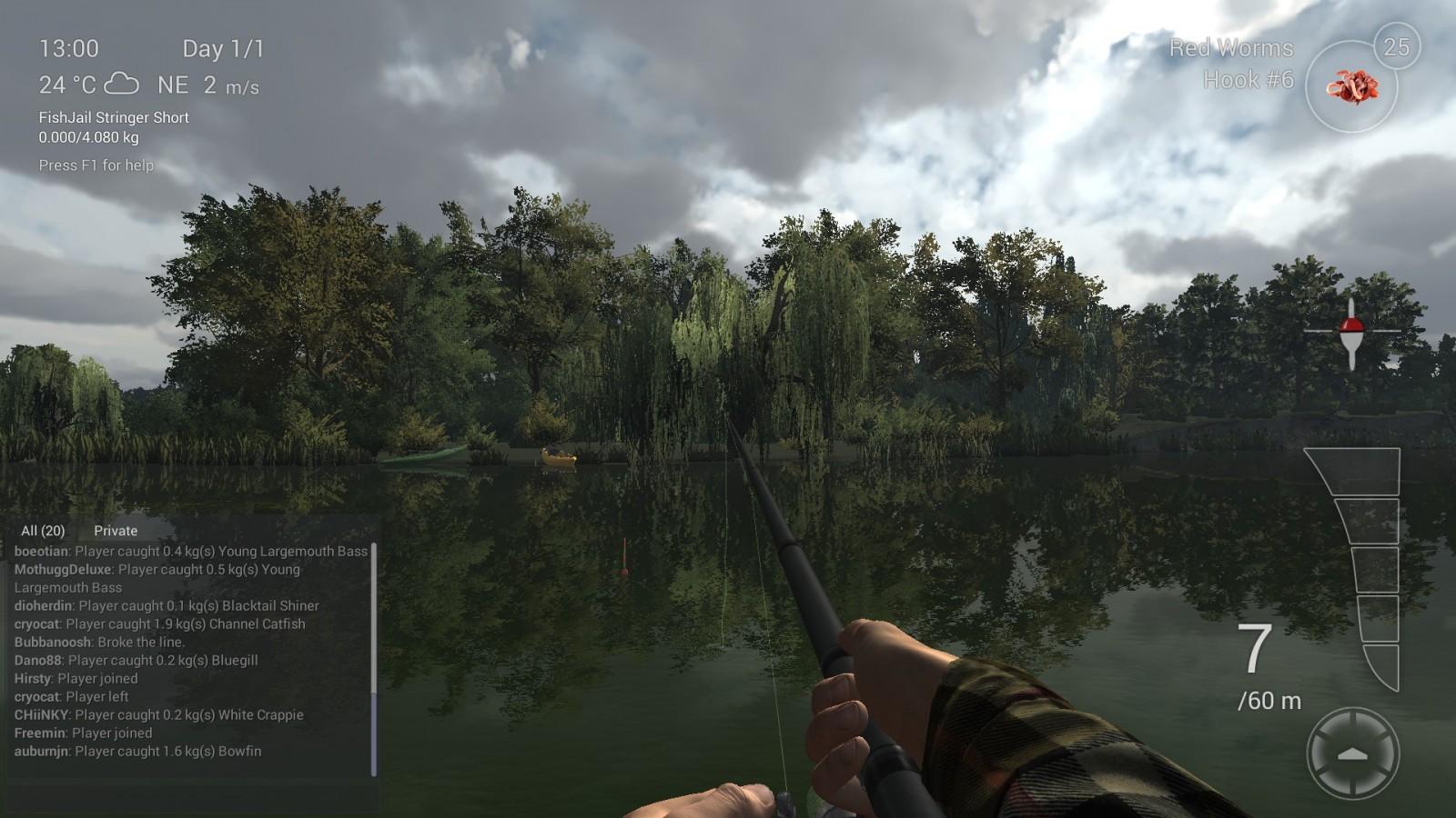 A pescar