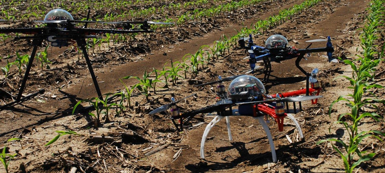 Drones para agricultura y granjas
