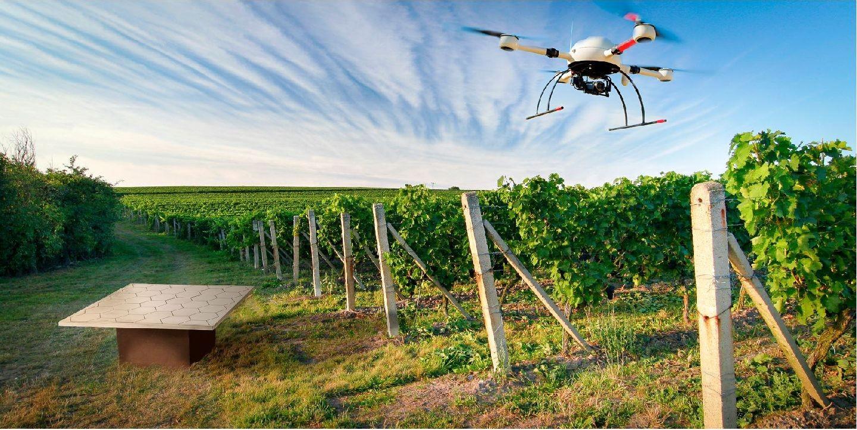 Drones Y Tractores Autónomos Para El Campo Vapor