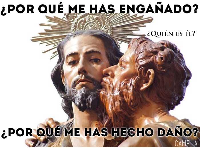 Semana Santa Beso De Judas