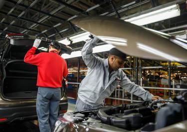 Así se fabrica un coche: el día en que fabriqué un Nissan Qashqai