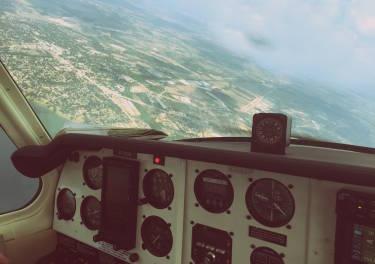 Una App nos desvela qué vemos desde la ventanilla del avión