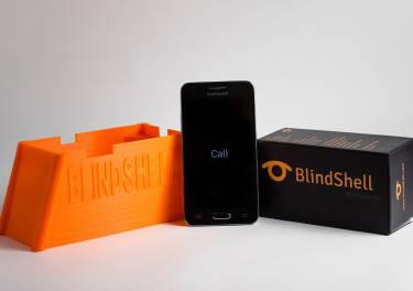¡Ya está aquí! BlindShell, el primer <em>smartphone</em> táctil para ciegos